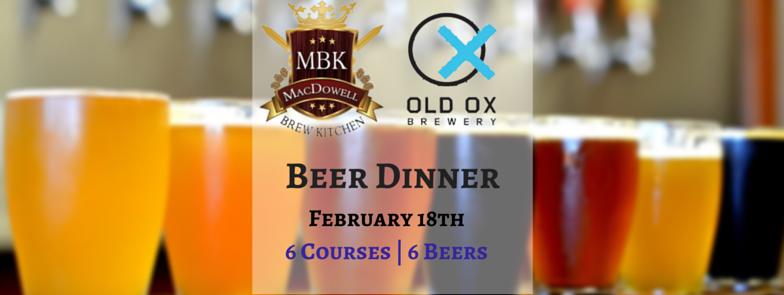 MBK Beer Dinner