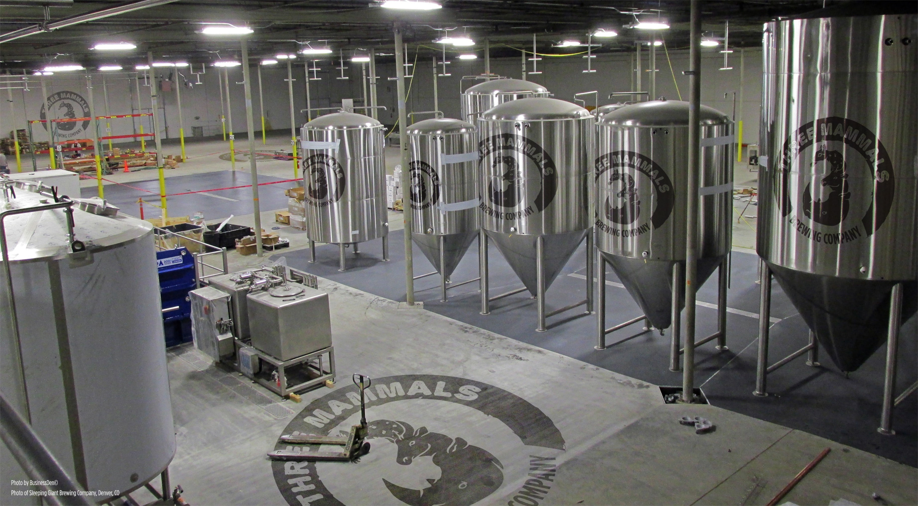 Three Mammals Brewing Company Facility