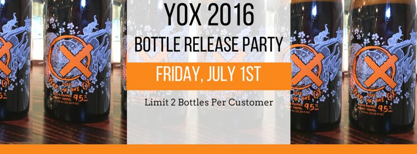 YOX Bottle Release
