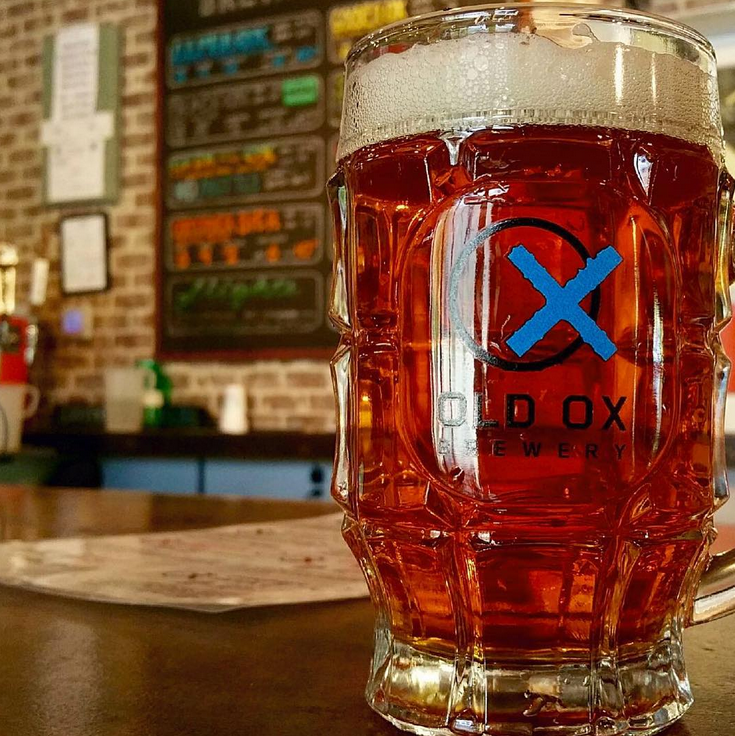 old ox brewery oxtober stein